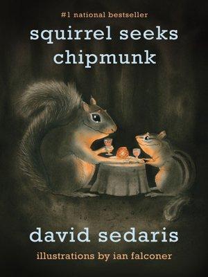 cover image of Squirrel Seeks Chipmunk