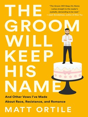 cover image of The Groom Will Keep His Name