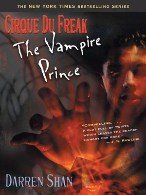 cover image of The Vampire Prince