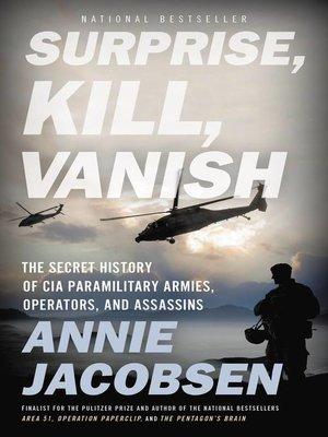 cover image of Surprise, Kill, Vanish