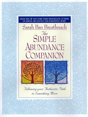 cover image of The Simple Abundance Companion