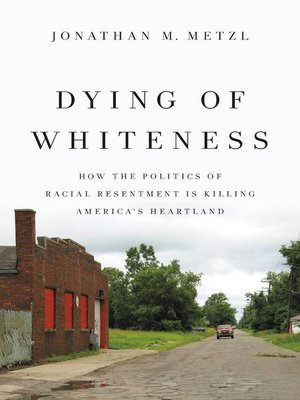 cover image of Dying of Whiteness