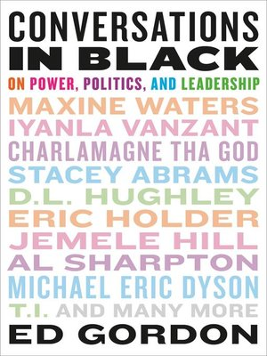 cover image of Conversations in Black