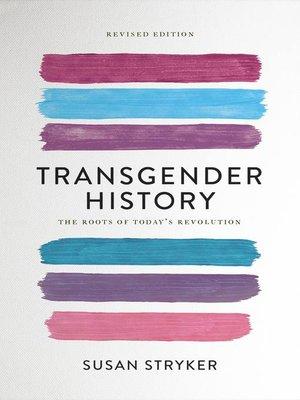 cover image of Transgender History