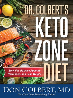 cover image of Dr. Colbert's Keto Zone Diet