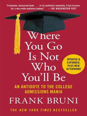 cover image of Where You Go Is Not Who You'll Be