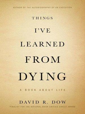 cover image of Things I've Learned from Dying