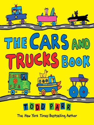 cover image of The Cars and Trucks Book
