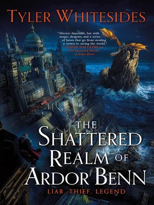 cover image of The Shattered Realm of Ardor Benn