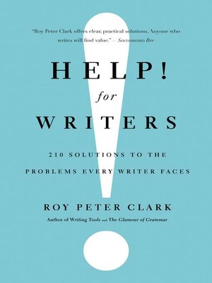 cover image of Help! For Writers