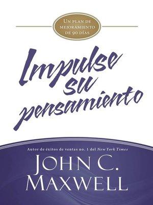 cover image of Impulse su pensamiento
