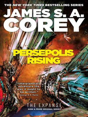cover image of Persepolis Rising