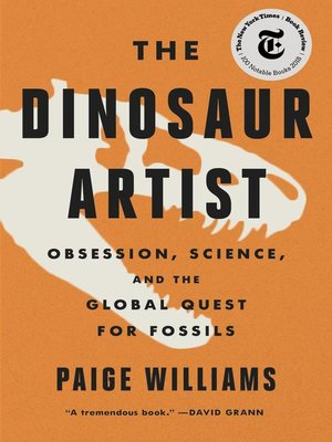 cover image of The Dinosaur Artist