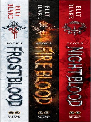 cover image of The Frostblood Saga Omnibus