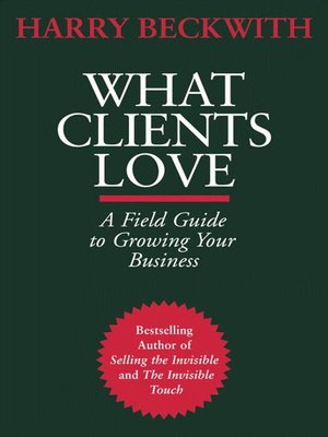 cover image of What Clients Love