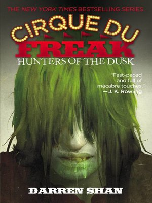 cover image of Hunters of the Dusk