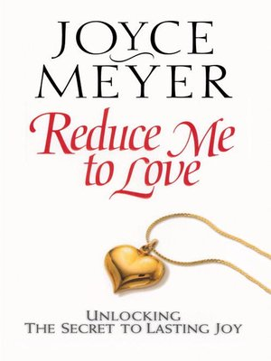 cover image of Reduce Me to Love