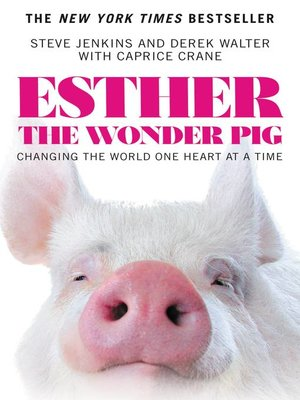 cover image of Esther the Wonder Pig