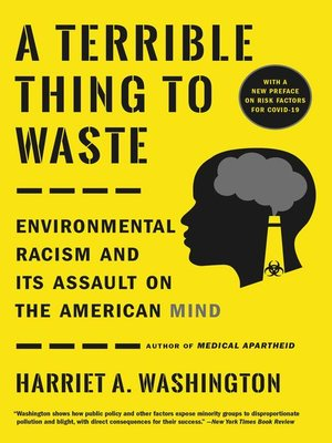 cover image of A Terrible Thing to Waste