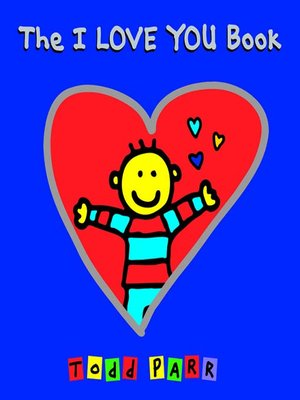 cover image of The I LOVE YOU Book
