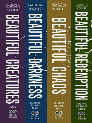 cover image of Beautiful Creatures Complete Set