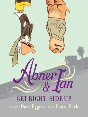 cover image of Abner & Ian Get Right-Side Up