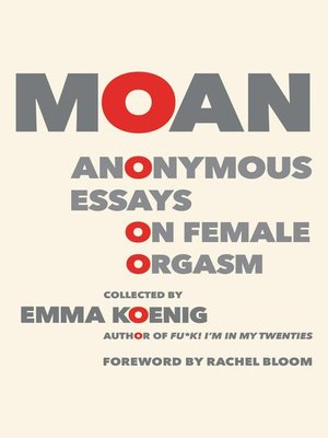 cover image of Moan