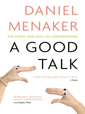 cover image of A Good Talk