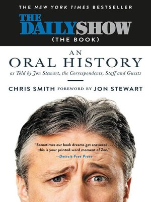 cover image of The Daily Show (The Book)