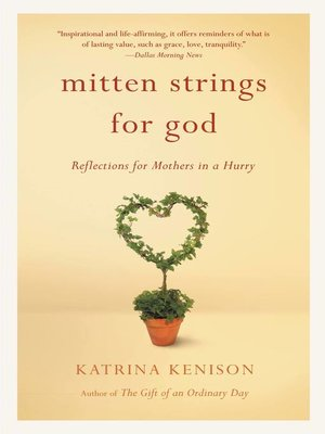 cover image of Mitten Strings for God