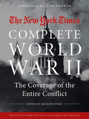 cover image of The New York Times Complete World War II