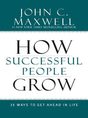 cover image of How Successful People Grow