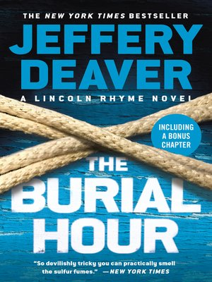 The Burial Hour by Jeffery Deaver · OverDrive (Rakuten OverDrive