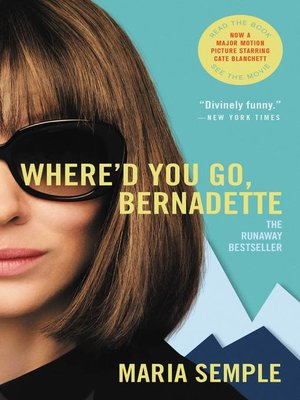 Cover image for Where'd You Go, Bernadette