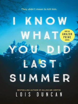 cover image of I Know What You Did Last Summer