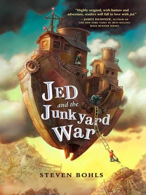 cover image of Jed and the Junkyard War Series, Book 1