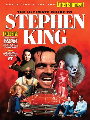 cover image of ENTERTAINMENT WEEKLY the Ultimate Guide to Stephen King