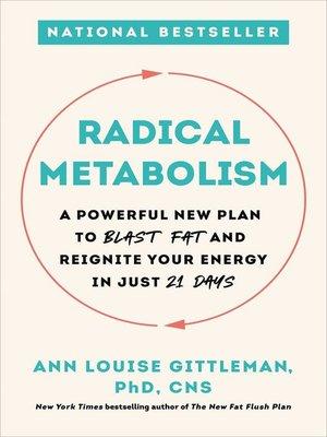 cover image of Radical Metabolism