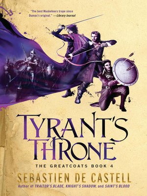 cover image of Tyrant's Throne
