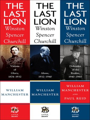 cover image of The Last Lion: Winston Spencer Churchill Box Set
