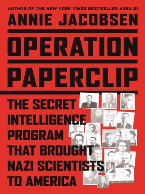 cover image of Operation Paperclip