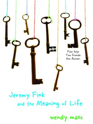 cover image of Jeremy Fink and the Meaning of Life