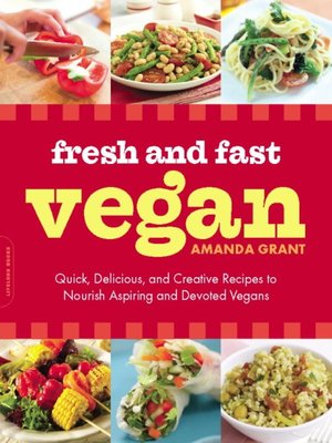 cover image of Fresh and Fast Vegan