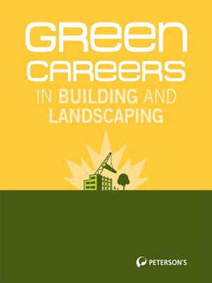cover image of Green Careers in Building and Landscaping