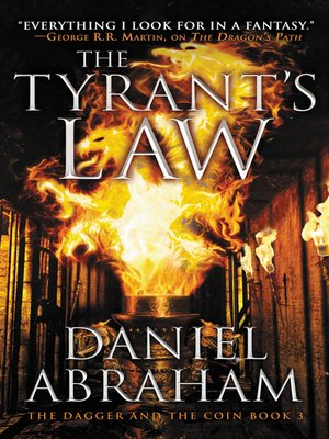 cover image of The Tyrant's Law