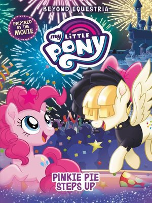 cover image of Pinkie Pie Steps Up