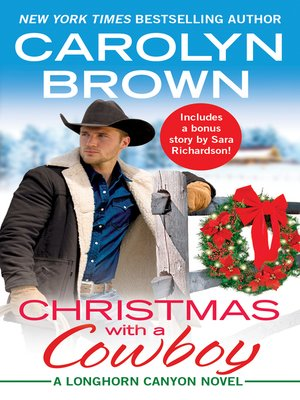 cover image of Christmas with a Cowboy