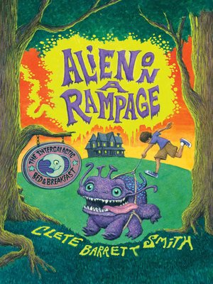 cover image of Alien on a Rampage
