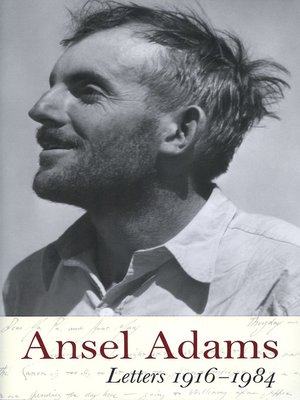 cover image of Ansel Adams--Letters, 1916--1984