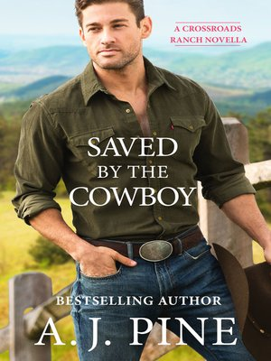 cover image of Saved by the Cowboy